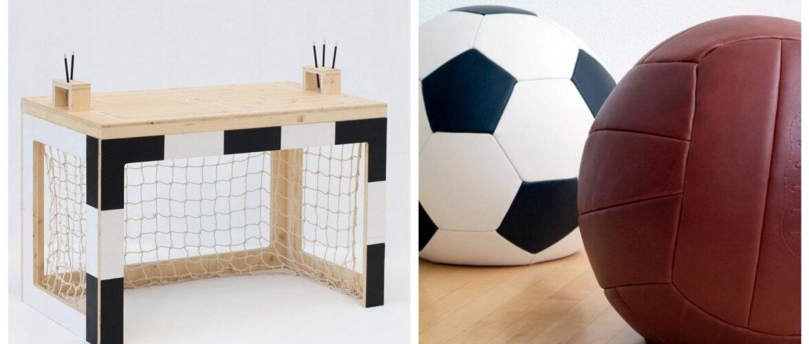 АКТУАЛЬНО │ Тенденция — футбол. Мяч вместо пуфа