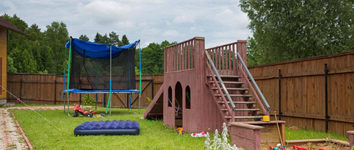 Lahedaid ideid, kuidas kujundada aeda laste mänguala