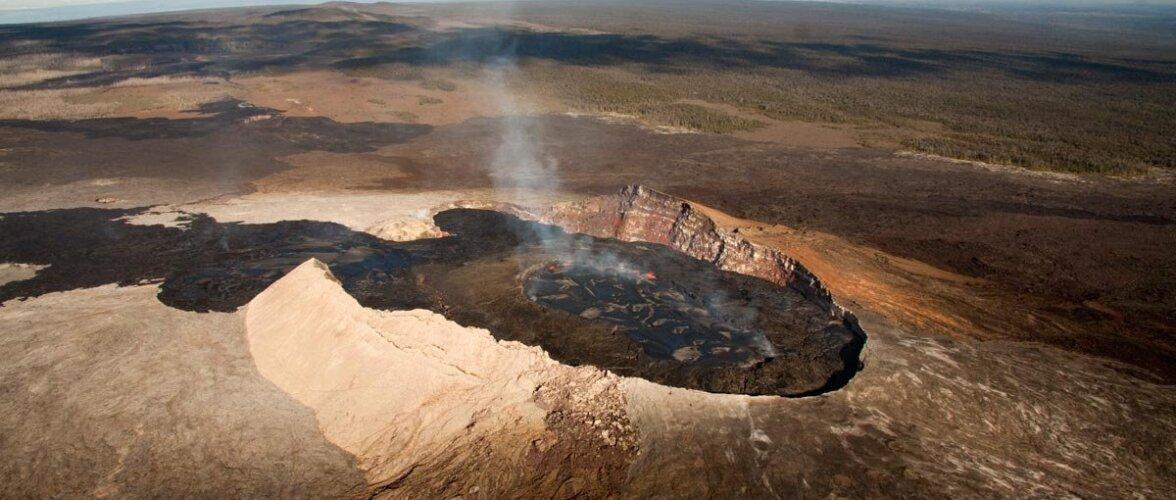 Lugu Hollywoodi filmitööstuse piloodist, kes kukkus vulkaani ja jäi ellu