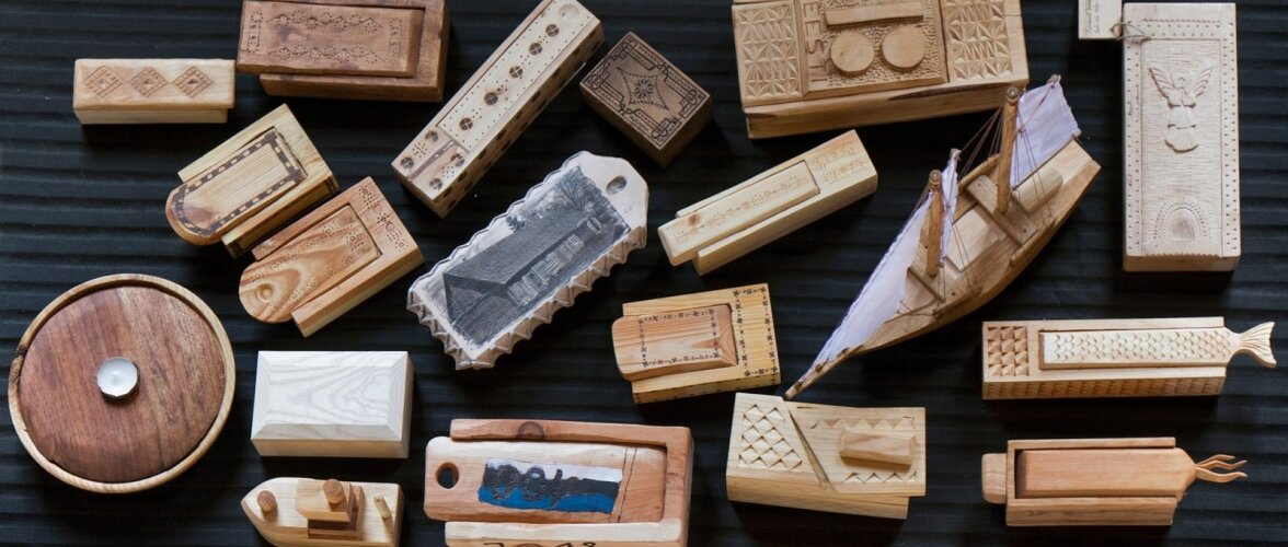 MTÜ Tuhala Ajaloo- ja Kunstikambri ning Maalehe puutöökonkursi selleaastane teema oli küüp ehk väike puidust karbike.
