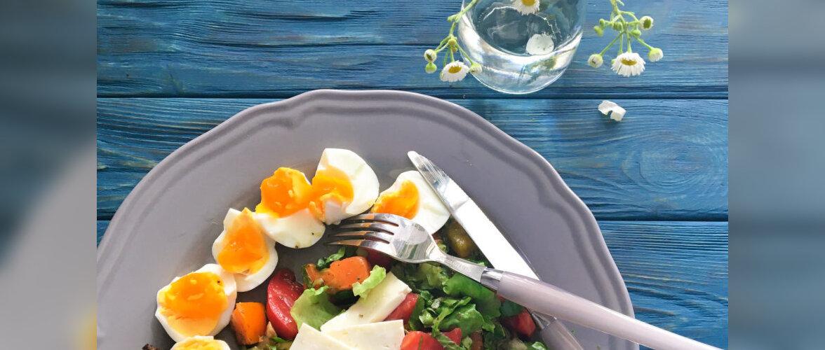 Kolm värvitooni, mis tõstavad söögiisu ja kolm, mis langetavad