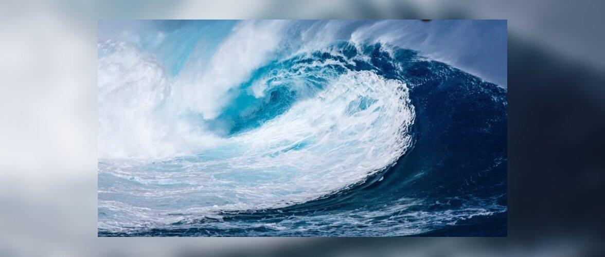 Рекордная высота волн зарегистрирована в Новой Зеландии