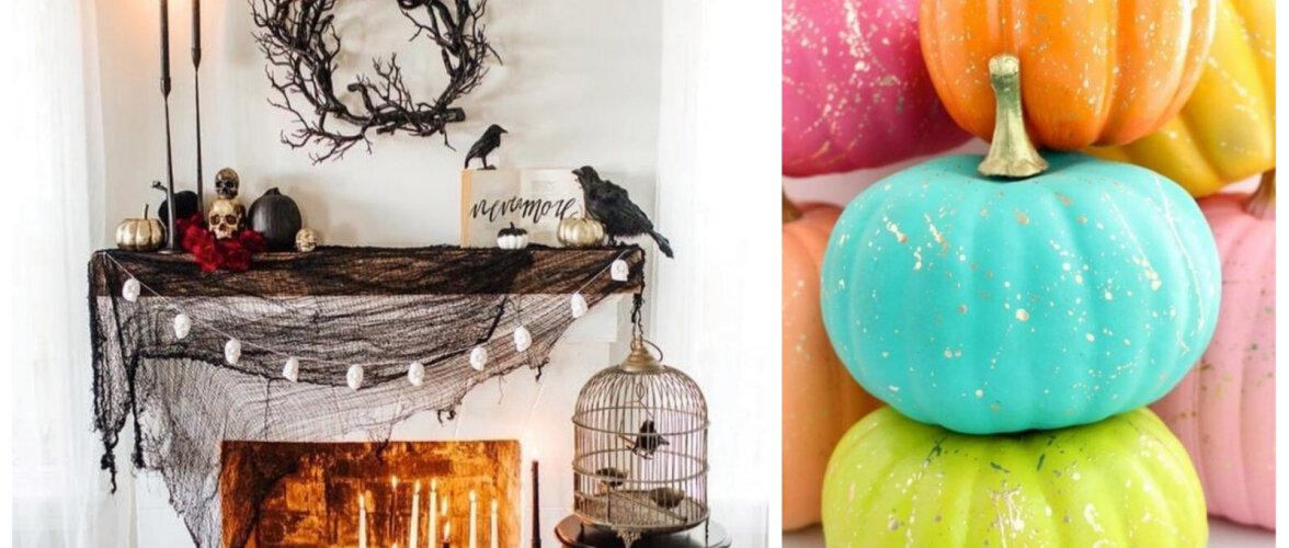 TEE ISE | Lihtsad ja efektsed <em>Halloween</em>'i kaunistused koju ja aeda