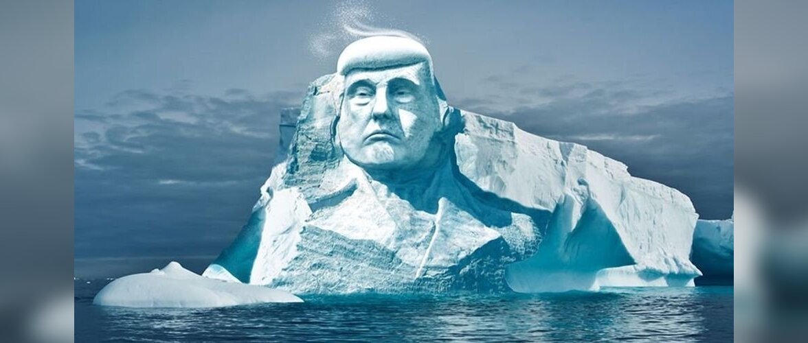 Группа финских активистов намерена изваять изо льда гигантскую статую Дональда Трампа