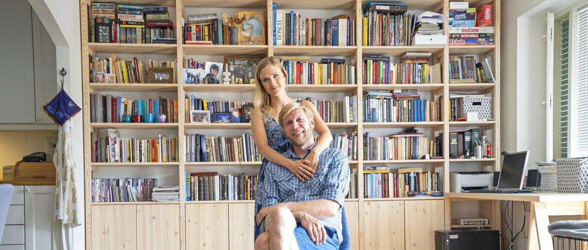 Tartu teatripaari Pirjo ja Tanel Jonase kodu Tammelinnas - värve valides jõuti ikka ja jälle siniseni