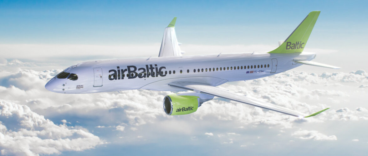 "airBaltic удостоена награды ATW ""Лидер рынка"""