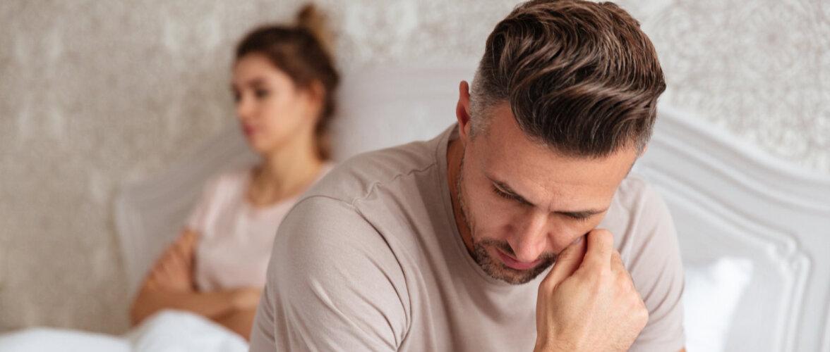 Õhtul, kui mees töölt laekub, on naine teda ootamas seksikas pesus? – Nali!
