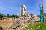 Rahandusministeeriumi lammutustööd 2015.07.15