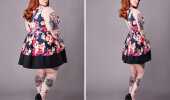GALERII: Facebooki grupp photoshoppis pluss-suuruses naisi saledamaks, inspireerimaks neid kaotama kaalu
