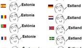 Eestimaa erinevates keeltes