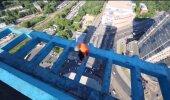 Judinaid tekitav VIDEO: Mees turnib üliohtlikes kõrgustes