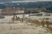 Süüria TV: Vene lennukid ründasid Islamiriiki ajaloolises Palmyras