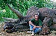 Steven Spielberg dinosaurusega