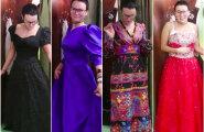 ВИДЕО DELFI: Супердешево и очень сердито! Журналист Delfi купила платье на президентский прием в гуманитарке