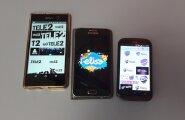 Elisa, Telia, Tele 2 logod