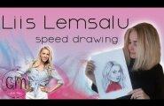 VIDEO: Vaata, kuidas valmib noore Eesti kunstniku portree Liis Lemsalust