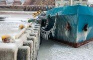 Lumetuisk ja külm Saaremaal