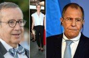 Ilves: Lavrov võib pikalt sõimata dekadentlikke lääne väärtusi, kuid tema oma tütar ei taha minna tagasi Venemaale