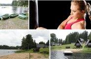 Treener Irena Rihkrand uppus firma suvepäevadel