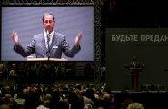 VIDEO ja FOTOD: Maisesse Tondiraba jäähalli kogunes paradiisi pääsemist arutama 4600 Jehoova tunnistajat