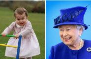 NAGU KAKS TILKA VETT: Kumb on kumb? Printsess Charlotte ja kuninganna Elizabeth