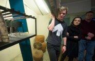 Linnateatri ekskursioon Priit Piusi ja Hele Kõrvega