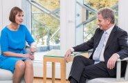 President Kersti Kaljulaidi visiit Soome Vabariiki