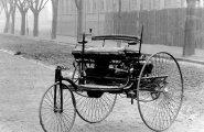 """Nii see algas: Karl Benzi esimene patenteeritud """"auto""""."""
