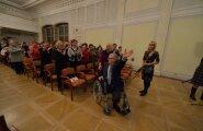VIDEO ja FOTOD: Savisaare propagandakontserti tuli kuulama saalitäis pensionäre