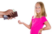 Kas ma peaksin oma lapsele rääkima, kui palju ma teenin?