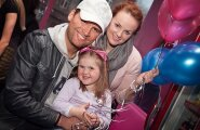 Koit Toome, Kaia Triisa ning tütar Rebecca