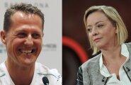 Michael Schumacher ja Sabine Kehm