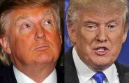 FOTOD ENNE JA PÄRAST: Donald Trump on presidendikampaania ajal loobunud isepruunistuvate kreemide kasutamisest