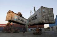 Maailma kaubalaevandus vaevleb toimumata peo pohmellis