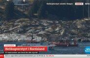 VIDEO: Norra rannikul kukkus alla helikopter 13 inimesega pardal