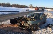 Liiklusõnnetus Paide vallas