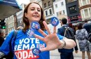 ФОТО и ВИДЕО DELFI: Как голосовали жители Лондона на референдуме?