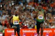 Kim Collins, Usain Bolt