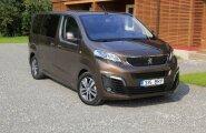 AutoNeti proovisõit: Peugeot Traveller - kolm kerepikkust ja igaühele sobiv pakett