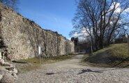 ФОТО читателя Delfi: Врата времени или Епископский замок в Хаапсалу