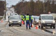 Politsei alkoreid Tallinna piiril