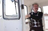 KAAMERAGA VEEL: Noarootslane kihutab iga hommik kaatriga Haapsallu tööle – kolme minutiga
