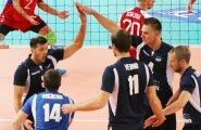 Eesti võrkpallikoondis mängus Tšehhiga