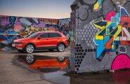 Volkswagen Tiguan erilise disainiga ei eputa, kuid mõjub soliidse kvaliteetklassi linnamaasturina, mis sobib nii pere- kui ka firmaautoks.