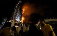 ФОТО читателей Delfi и рассказы очевидцев: Спустя три минуты горел весь отель