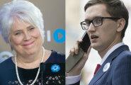 VALUS NINANIPS: Kas Marina Kaljuranda natsismiga seostav Jaak Madison ei tea, milline tema erakonna logo välja näeb?