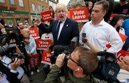 Endine Londoni linnapea Boris Johnson EList lahkumise kampaanias.