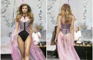 DELFI FOTOD! Vallatu, seksikas ja naiselik: Kriss Soonik korraldas Tallinn Fashion Weekil suurejoonelise pesupeo