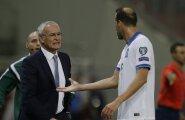 Leicesteri peatreener: olen sama mees, kes Kreeka koondisega Fääri saartele kaotas