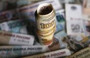 Saksa kaubandushiid sai Vene rubla tõttu kolme kuuga 40 miljonit eurot kahjumit